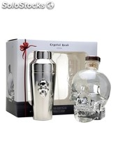 Crystal head with shaker 70cl / 40%