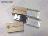 crystal usb flash drive wood cap en la vida y en la cancha 8gb - Foto 2
