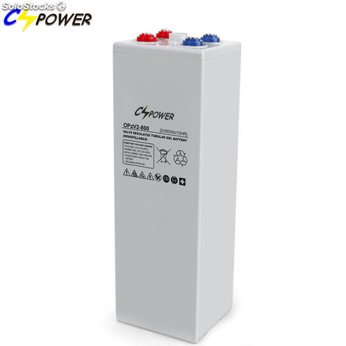 Cspower 2V 800ah Opzv Gel Solar Battery