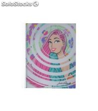 Cuaderno a4 5x5 140h 70grs pp amber jl miquel 47556