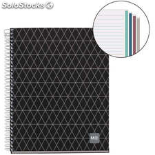 Cuaderno A4 Diamonds Collection 120 Hojas