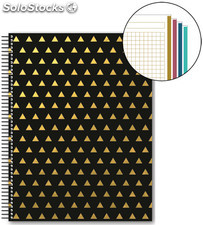 Cuaderno A4 Golden Collection 120 Hojas