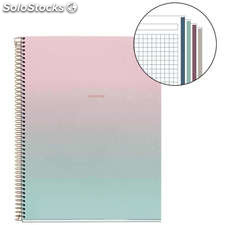 Cuaderno A4 Rose Gold Collection 120 Hojas
