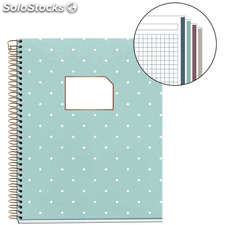 Cuaderno A5 Rose Gold Collection 120 Hojas