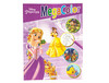 Cuaderno de colorear disney megacolor con pegatinas 64 paginas 210X280 mm