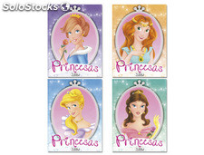 Cuadernos para colorear princesas glitter color 16 paginas 215x270 mm