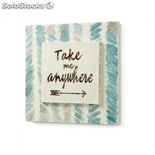 Cuadro Dou Take Me Anywhere - Color - Multicolor Anywhere Dou