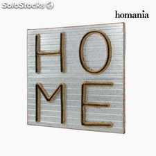 Cuadro metal home by Homania