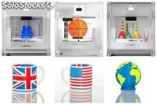 CubeX 3d Printer's ready-to-print technology,
