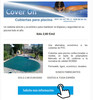 Cubierta para piscina Cover On 8x4m.