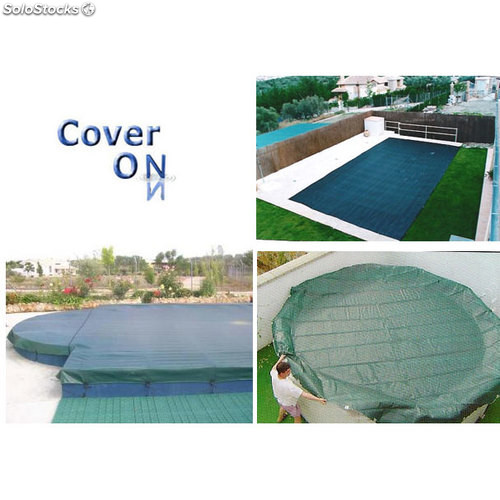 Cubierta para piscina Cover On 9 x 5 m.