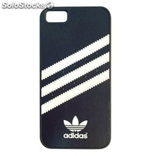 Cubierta trasera Adidas Moulded Case iPhone 5 y 5S, negra