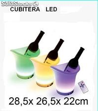 Cubitera con led cambia de color
