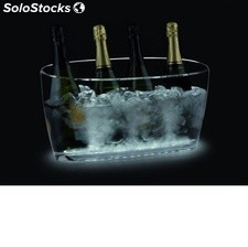 Cubitera Nice 4-5 botellas con base led