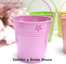 Cubos colores pastel para candy bar, fiesta, boda y comunion