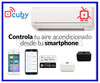 Cuby-air Termostato para split wifi blanco