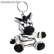 Cuddly Toy Zebra Small, Black