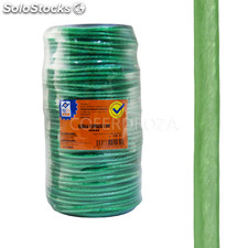 Cuerda pe forrada 4 mm verde profer home 100 m