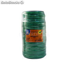 Cuerda pe forrada 5 mm verde profer home 100 m