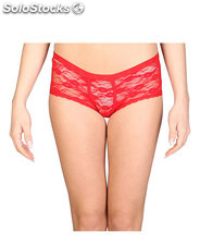 culotte donna datch rosso (31257)