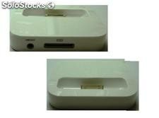 Cuna De Carga Dock Station Para Iphone Ipod 4g 4Gs