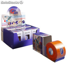 Cure Tape 5 cm x 5 mts Color Naranja