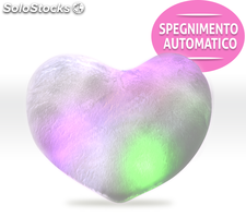 Cuscino Luminoso a forma di Cuore Led Pillow