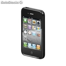 custodia iphone 4/4s nero case durevole 42902