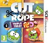 Cut the rope:pack 3 juegos/3DS