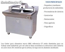 Cutter semi-industrial marca BBG referencia CT
