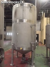 Cuve 5000 litres inox d'occasion