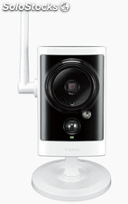 D-link dcs-2330l ip security camera interior y exterior caja negro, color blanco