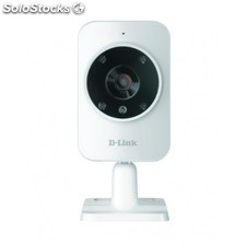 D-Link - Home Monitor HD IP security camera Interior Caja Color blanco