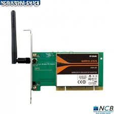 d-Link Tarjeta Red Pci N150 Wireless 11G/11N b.l.p