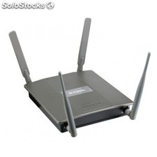 D-Link - Wireless N Quadband Unified Access Point 300Mbit/s Energía sobre