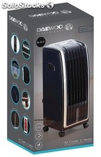 Daewoo 4 in 1 air cooler, fan heater, air purifier and humidifier - brand new st