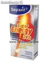 Dagravit super energy 24 horas, 40 comp. efervescentes