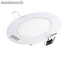 Dalle LED encastrable ronde extra-plate - 12W, 4000K, Ã 168 mm