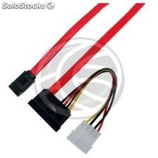 Data + sata Power Cable (26cm) (DN25)