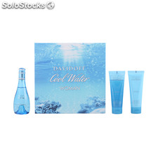 Davidoff - cool water woman lote 3 pz