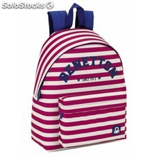 """Day pack benetton """"pink stripes"""""""