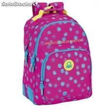 """Day pack doble benetton """"dots painted"""""""
