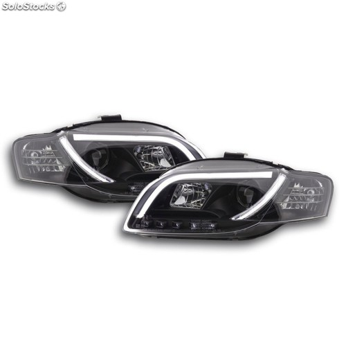 Daylight headlight audi a4 typ 8e yr. 05-07 black