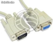 DB9 serial cable 1.8m male to female (CS22)