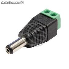 DC adapter jack to plug 2pin terminal block (FB28-0004)