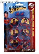 Dc heroclix: superman set tokens + dados PLL02-wzk72079