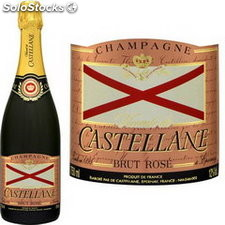 De castellane champ.rose 75 cl