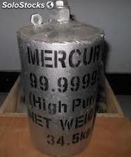 de Silver & virgin Liquid Mercury 99.999% está