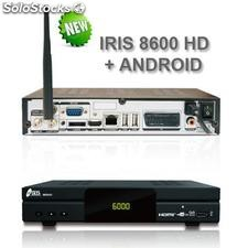 Decodificador Iris 8600 hd Android