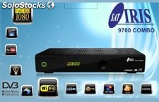 Decodificador Iris 9700 Combo Hd: ¡tv + Sat! Full Hd, Wifi, Reproductor,